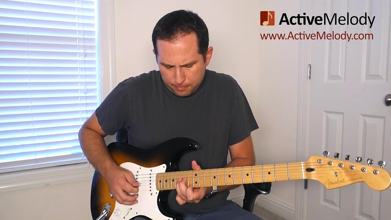 Bending Strings – Guitar Lesson – Practice Exercise – BLG002