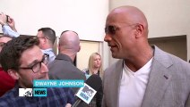 Dwayne Johnson Talks 'San Andreas', 'Moana', And Sings Some Taylor Swift  MTV News