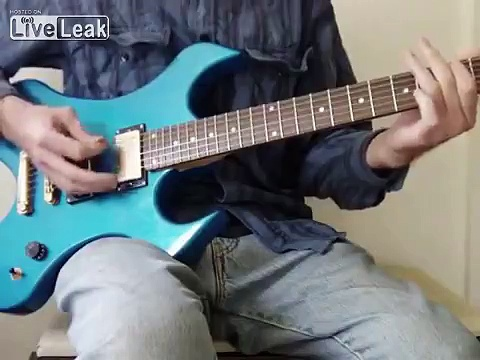 electric guitar playing