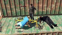 GTA 5 - Wipeout V4, Parkour, Fails, Funny Moments, Noobs