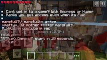 Minecraft PE | TNT Run [2] Glitches!
