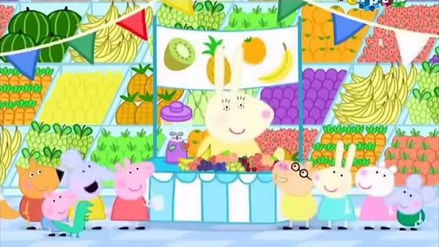 Свинка Пеппа фрукты Peppa Pig Fruit | Peppa Pig russian
