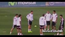 Cristiano Ronaldo and James Rodriguez Funny Moments   Cristiano Ronaldo fake vs James 2014