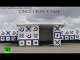 Canadian travels 20K miles shooting surreal Soviet bus stops