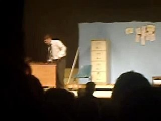"""Alan Greaney singing """"Hey There"""" from the """"Pajama Game"""""""