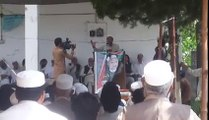 Sahibzada Sanaullah PPP candidate of PK-93 emotional speech election campaign of Pk-93
