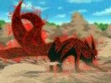 orochimaru vs naruto, la aparicion de sasuke