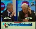"""Jorge Altamira debate con Luis Zamora en """"Con voz propia"""" (A24) - 16/10/13 // Parte 1"""