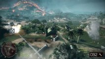 Battlefield Bad Company 2 Multiplayer ( vietnam war ) Teamwork with different sets of angle