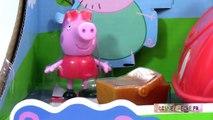 Peppa pig en francais Voiture de Pique nique Picnic Adventure Car Jouets