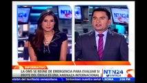 OMS se reunirá para analizar si el brote del Ébola constituye una emergencia sanitaria internacional