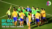 Football Fights moment 2014 : 12 Players get out