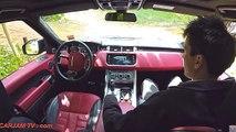 Range Rover Pothole Alert Car2Car Communication Range Rover Self Driving Car 2015 CARJAM T