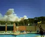 Forest Fire in Ramatuelle (St Tropez)