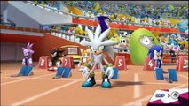Mario & Sonic at the London 2012 Olympic Games - 110m Hurdles
