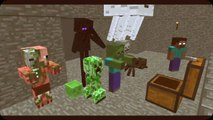 Minecraft school monster   Monster School  Acrobatics   Minecraft Animation MINECRAFT SONG ITA