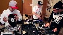 Dj Qbert vs DJ Shiftee vs Rafiq on Traktor Scratch Pro 2
