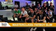 Masterclass by dj Fatboy Slim