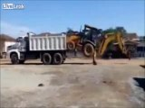 Insane Excavator Loading and Unloading