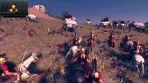 Total War  Rome 2   Massive Battles    1600 War Dogs vs  Elephants | elephants and dogs