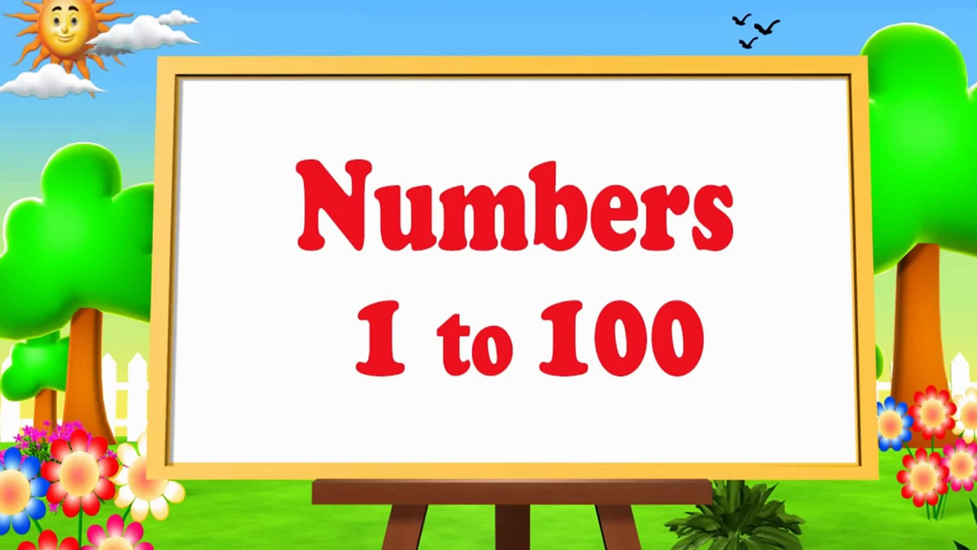 Learn Numbers Song 1 to 100 Counting - Animation Numbers Rhymes for Children