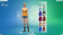 Sims 3 Create a sim - Making a resized toddler - Josiah Anthony