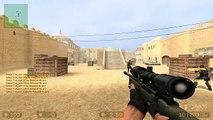 Counter Strike Source headshot gameplay