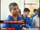 Helping hand from India bringing about a change in war-torn Afghanistan  Videos2.flv