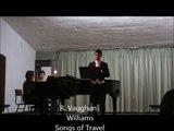 Songs of Travel - Vaughn Williams - II Let Beauty Awake - MIGUEL RODRIGUES baritone