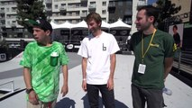 DEW TOUR + BRAILLE SKATEBOARDING A DAY IN THE LIFE - PART 1