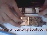 NOKIA 8800 repair - charging connector -- (www.MyTutorialBook.com)0029.flv