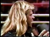 Lex Luger & Ric Flair Interview WCW Saturday Night 16/12/89