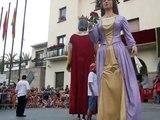 Catalan Dance of Giants in Festa Major of Barbera Del Valles