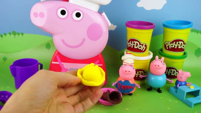 Fruit ice cream from Play Doh  Set pig Peppa cook  Master class  Peppa pig NEW FuN ToYs for KiDs