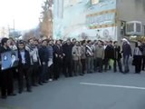 Iranians protest the Murder of child by Green Movement Scum