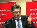 Algirdas Butkevičius, LSDP Pirmininko pavaduotojas