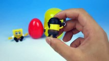 Surprise Eggs Despicable Me Minions Toys Surprise Eggs Play Doh Surprise Eggs Despicable Me Minions