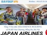 TâyNinh: Đại lý cáp 1 Japan Airlines ở Tây Ninh, đại lý ủy quyền Japan Airlines
