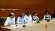 Pactos y acuerdos de PODEMOS en el Estado  - Antonio Urbina  - Diputado de Podemos Región de Murcia