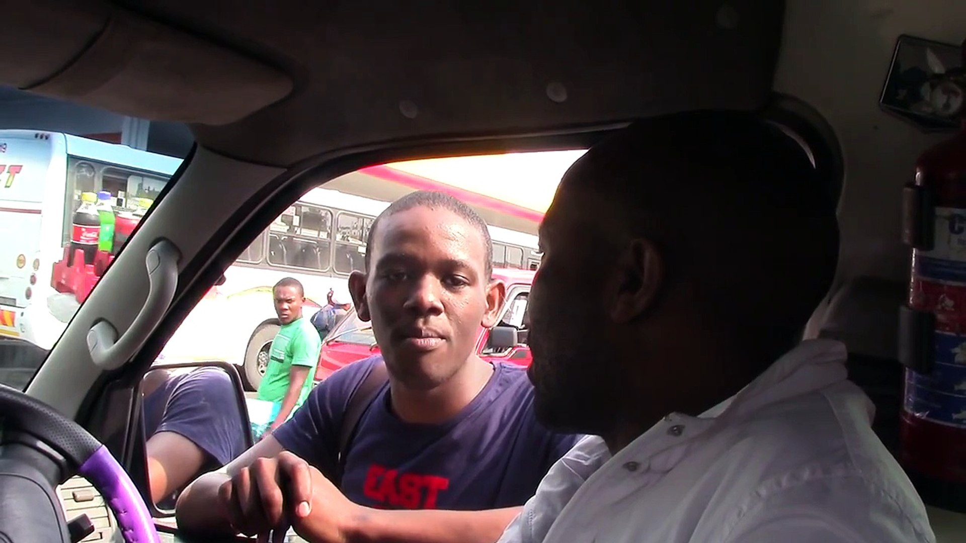 taxi drive explains his daily routine with Taximap