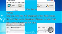 Merge and Convert F4F to AVI, FLV, MOV, MP4, WMV on Mac or Windows