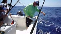 Offshore Fishing and Spearfishing, Long Key, Florida, June 2009