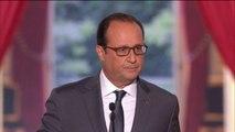 """François Hollande : """"A terme, Bachar el Assad doit partir"""""""