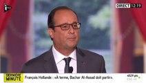 """35 heures : """"La durée légale du travail ne changera pas"""", réaffirme Hollande"""