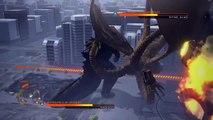 """""""GODZILLA"""" PS4 vs. Mode : Godzilla 2014 vs. King Ghidorah"""