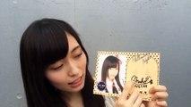 NGT48 山口真帆(やまぐち まほ)サインの解説☆ @幕張メッセ 2015.09.06 AKB48 SKE48 NMB48 JKT48 HKT48 SNH48