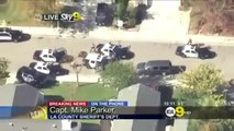 Lancaster Police Chase SUV - Shots Fired on Live Television [FATAL]