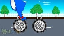 Superman Truck Vs Ninja Truck Truck for kids - Mega Kids Tv - Superman Truk Vs Ninja Truk Truk