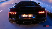 Lamborghini Aventador Exhaust Fire: Lambo Spitting Flames