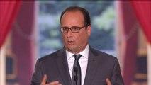 """François Hollande : """"Mieux organiser le travail, y compris le temps de travail"""""""